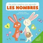 Couverture du livre « Mes petites comptines pour apprendre les nombres » de Gaelle Vervelle-Berthelet et Raphaelle Albert aux éditions Millepages