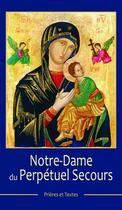 Couverture du livre « Notre-dame du Perpétuel secours » de Collectif aux éditions Benedictines