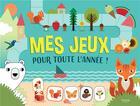 Couverture du livre « Mes jeux pour toute l'annee » de Agnese Baruzzi aux éditions Kimane