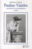Couverture du livre « Pauline viardot » de Michele Friang aux éditions Hermann
