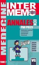Couverture du livre « Annales pour pôles 2004 à 2008 t.2 » de Collectif aux éditions Vernazobres Grego