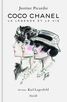 Couverture du livre « Chanel, sa vie » de Justine Picardie aux éditions Steidl