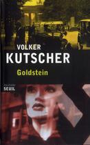 Couverture du livre « Goldstein » de Volker Kutscher aux éditions Seuil