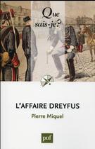 Couverture du livre « L'affaire Dreyfus (11e édition) » de Pierre Miquel aux éditions Puf