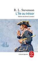 Couverture du livre « L'île au trésor » de Robert Louis Stevenson aux éditions Lgf