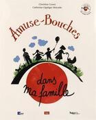 Couverture du livre « AMUSE-BOUCHES ; dans ma famille » de Christine Croset et Oppliger Mercado Catherine aux éditions Lep