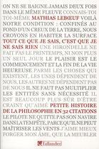 Couverture du livre « Tout ce que je sais, c'est que je ne sais rien » de Mathias Leboeuf aux éditions Tallandier