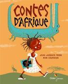 Couverture du livre « Contes d'Afrique » de Jean-Jacques Fdida et Remi Courgeon aux éditions Didier Jeunesse