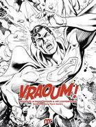 Couverture du livre « Vraoum ! trésors de la bande dessinée et art contemporain » de David Rosenberg et Pierre Sterckx aux éditions Fage