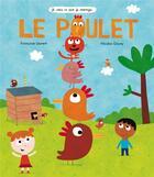 Couverture du livre « Le poulet » de Francoise Laurent et Nicolas Gouny aux éditions Ricochet
