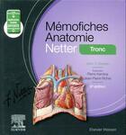 Couverture du livre « Mémo-fiches ; anatomie Netter ; tronc » de John T. Hansen aux éditions Elsevier-masson