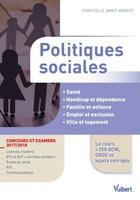 Couverture du livre « Politiques sociales (concours et examens 2017/2018) » de Christelle Jamot-Robert aux éditions Vuibert