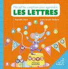 Couverture du livre « Mes petites comptines pour apprendre les lettres » de Gaelle Berthelet et Raphaelle Albert aux éditions Millepages
