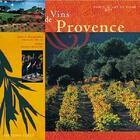 Couverture du livre « Vins de provence » de Frederic Beniada aux éditions Feret
