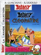 Couverture du livre « Astérix t.6 ; Astérix et Cléopâtre » de Rene Goscinny aux éditions Albert Rene