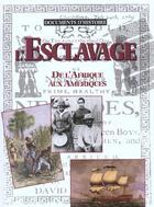 Couverture du livre « L'esclavage » de Collectif aux éditions Gamma Editions
