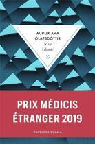 Couverture du livre « Miss Islande » de Audur Ava Olafsdottir aux éditions Zulma