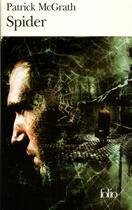Couverture du livre « Spider » de Patrick Mcgrath aux éditions Gallimard