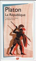 Couverture du livre « La République » de Platon aux éditions Flammarion
