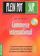 Couverture du livre « Commerce International ; Bts » de Duphil et Paveau et Sarhan et J Duboin aux éditions Foucher