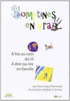 Couverture du livre « Comptines en vrac » de Dominique Normand aux éditions Solilang