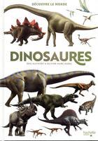 Couverture du livre « Découvre le monde ; dinosaures » de Eric Mathivet et Olivier-Marc Nadel aux éditions Hachette Enfants