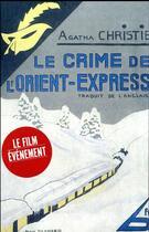 Couverture du livre « Le crime de l'Orient Express » de Agatha Christie aux éditions Editions Du Masque