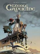 Couverture du livre « L'école Capucine t.1 ; venin de village » de Vincent et Djian aux éditions Vents D'ouest