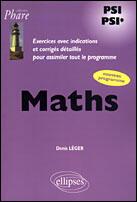 Couverture du livre « Mathematiques psi-psi* » de Denis Leger aux éditions Ellipses Marketing