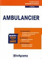 Couverture du livre « Ambulancier (6e édition) » de Philippe Domingues aux éditions Studyrama