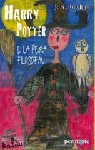 Couverture du livre « Harry Potter e la peira filosofau » de J. K. Rowling aux éditions Per Noste