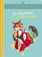 Couverture du livre « Le corbeau et le renard » de Romain Simon aux éditions Deux Coqs D'or