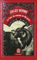 Couverture du livre « Le tour du monde en 80 jours » de Jules Verne aux éditions Lgf