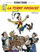 Couverture du livre « Les nouvelles aventures de Lucky Luke t.7 ; la terre promise » de Jul et Achde aux éditions Lucky Comics