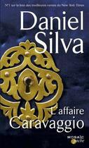 Couverture du livre « L'affaire Caravaggio » de Daniel Silva aux éditions Harpercollins