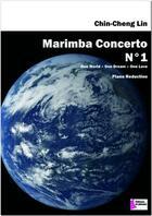 Couverture du livre « Marimba concerto n°1 » de Chin-Cheng Lin aux éditions Francois Dhalmann
