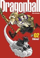 Couverture du livre « Dragon ball t.2 » de Akira Toriyama aux éditions Glenat