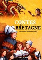 Couverture du livre « Contes de bretagne » de Jean Markale et Dominique Ehrhard aux éditions Ouest France