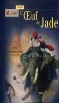 Couverture du livre « L'oeuf de jade » de Talbot Mundy aux éditions Terre De Brume