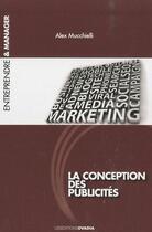 Couverture du livre « La conception des publicités » de Alex Mucchielli aux éditions Ovadia