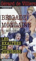 Couverture du livre « Les exaltées de Jumièges » de Michel Brice aux éditions Vauvenargues