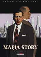 Couverture du livre « Mafia story t.5 ; Lepke » de David Chauvel et Lou et Erwan Le Saec aux éditions Delcourt