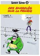 Couverture du livre « Lucky Luke T.29 ; des barbelés sur la prairie » de Rene Goscinny et Morris aux éditions Dupuis