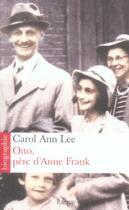 Couverture du livre « Otto, Pere D'Anne Frank » de Carol Ann Lee aux éditions Ramsay