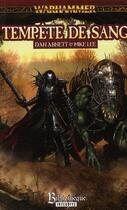 Couverture du livre « Tempête de sang » de Mike Lee et Dan Abnett aux éditions Bibliotheque Interdite