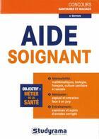 Couverture du livre « Aide-soignant (6e édition) » de Philippe Domingues aux éditions Studyrama