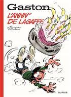 Couverture du livre « Gaston Lagaffe HORS-SERIE ; Gaston ; l'anniv' de Lagaffe » de Jidehem et Andre Franquin aux éditions Dupuis