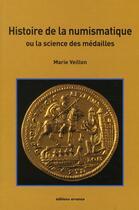 Couverture du livre « Histoire de la numismatique » de Marie Veillon aux éditions Errance