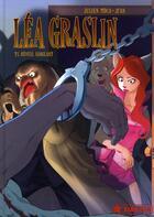 Couverture du livre « Léa Graslin t.1 ; réveil sanglant » de Julien Moca aux éditions Xiao Pan