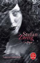 Couverture du livre « La peur » de Stefan Zweig aux éditions Lgf
